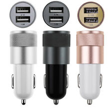 Dual 2-port USB Car Charger Power Adapter 3.1A for iPhone6/6S iPod/iPad Samsung