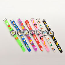 New Cute Cat Silicone Cartoon Wrist Watch For Kids Children Boys Girls NEW Hot