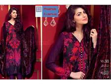 Gul Ahmed New and Original Winter Collection 2015 Unstitched Suit VL-38