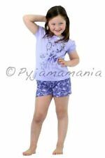 Pyjamas Girls Summer (size 3-7) Short Pjs Set Lilac Princess Sz 3 4 5 6 7
