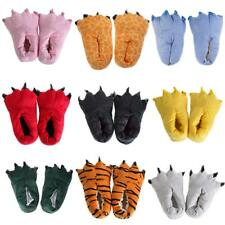 Women Men Cosplay Plush Slippers Animal Paw Indoor Winter Warm Slippers Shoes