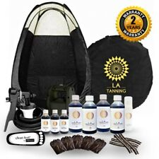 HVLP TS20 PRO SPRAY TANNING KIT,UNIT,TENT,TAN,SOLUTION & MORE! SHOULD BE £299!!