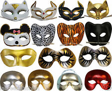 New Stylish Cat Face Mask and Eye Mask Shiny Face Mask Fancy Dress Accessories