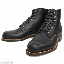 New Men's WOLVERINE 1000 Mile COURTLAND - W00279 Black Leather Made IN USA Boot