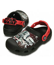 New Kids' Crocs Star Wars Darth Vader Clog Boys Shoes SZ 8/9 10/11 12/13 1