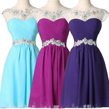 Teens Girls Short/Mini Prom Party Evening Homecoming Dress bridesmaid Graduation
