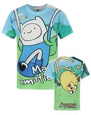 Official Adventure Time Jake And Finn Sublimation Boy's T-Shirt