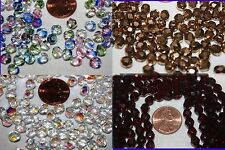 6 mm - 300 Beads per Pack * Fire Polished - Czech Glass Beads - * Many Colors *