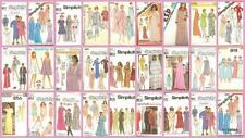 OOP Simplicity Sewing Pattern Misses Sleepwear Nightgown Pajamas Robe You Pick