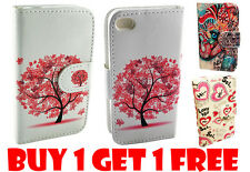 PROMO BUY 1 GET 1 FREE!! Apple iPhone 4 4S Credit Card Wallet Pouch Case Cover
