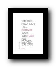 The Smiths ❤ William, It Was Really Nothing ❤ typography poster art print