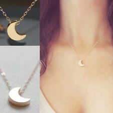 Fashion Necklaces for Women Chain Gold Silver Moon or Star Pendent Moon Necklace