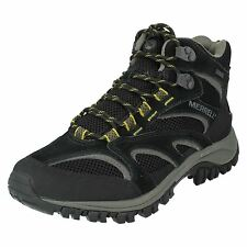 MERRELL MENS LACE UP WALKING HIKING LEATHER ANKLE BOOTS PHOENIX MID WATERPROOF
