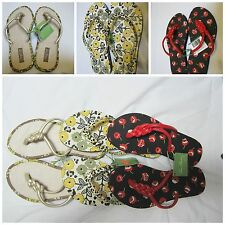 NWT VERA BRADLEY FLIP FLOPS SIZE {SMALL5-6}{MEDIUM7-8}THREE COLOR