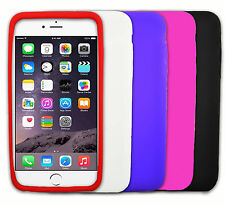 """Solid Soft Gel Flexible Silicone Case Cover Skin for Apple iPhone 6 Plus (5.5"""")"""