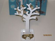 Jewelry Tree Stand - Jewelry Organizer Necklace Holder Earrings Box Chains