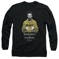 House MD Medical Drama TV Series Fox Humanity Hugh Laurie Adult L-Sleeve T-Shirt