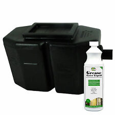 Domestic Commercial Fat Oil Separator HYDRA GREASE TRAP Kitchen FOG Management