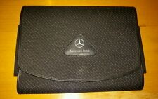 Mercedes benz genuine black spotted cloth car document for Mercedes benz wallet