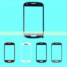 Front Outer Lens Touch Glass / Sticker Adhesive For Samsung Galaxy S3 Mini i8190