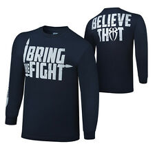 WWE ROMAN REIGNS I BRING THE FIGHT LONG SLEEVE YOUTH SHIRT OFFICIAL NEW