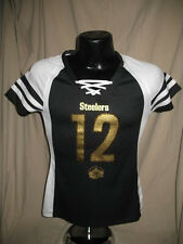 NFL Pittsburgh Steelers Terry Bradshaw #12 HOF Draft Me Jersey Shirt Women Size