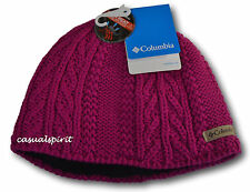 New Columbia womens Omni Heat cable knit ski snow winter hat beanie One Size