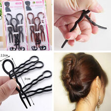 2 Set 6 PCS Hair Braid Twist Styling Accessory Clip Pin Styling Tool Easily Use
