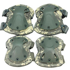 Tactical Paintball Protection Knee Pads & Elbow Pads Set Military Sports Gear
