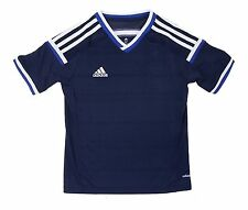 Adidas Youth Adizero Soccer Condi 14 Jersey S/S Navy Shirts Junior Team F49673
