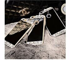 Crystal Diamond Mirror TPU Case Cover Skin For iPhone 4 5 6 Plus/Samsung S5 S6