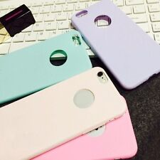 Candy Color Slim Matte Soft Silicone Case Cover Skin For Iphone 6 6 Pluse 5S 5