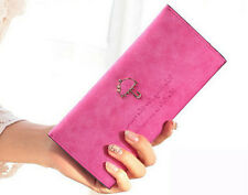 Fashion Women Lady Leather Purse Long Clutch Wallet Bifold Card Holder Bag