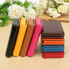 Waterproof Pocket PU Leather Business ID Credit Card Holder Case Wallet