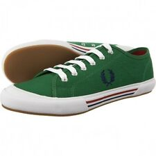 Fred Perry Vintage Tennis Canvas Trainers Plimsolls Pumps Casual Shoes 7/10/11