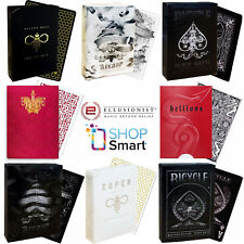 ELLUSIONIST BICYCLE PLAYING CARDS DECK MAGIC TRICKS POKER SIZE USPCC SEALED NEW