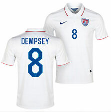 NIKE DEMPSEY USA AUTHENTIC HOME JERSEY FIFA WORLD CUP BRAZIL 2014 US SOCCER TEAM