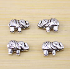 50/100 pcs wholesale:Very lucky elephant Tibet silver interval beads