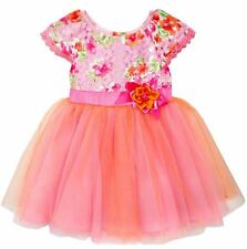 5 NWT Rare Editions Girls Easter Pageant Dress Flower Girl Tulle Dress