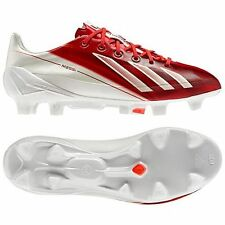ADIDAS MESSI F50 ADIZERO TRX FG SOCCER  SHOES White/Red