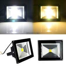 10W~50W Flood Light Yard Path Outdoor Waterproof Wash Lamp Warm/Cool White Black