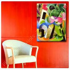 Photo STICKER Franz Marc House with trees print gallery fine art prints poster