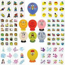 DIY Balloon Animals Childrens Kids Tattoos Loot Party Bag Fillers Boys Girls