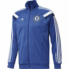 ADIDAS CHELSEA FC ANTHEM TRACK TOP Blue/White