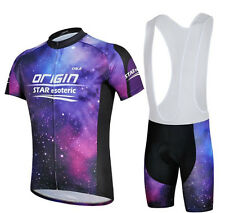 Purple Star Outdoor Sports Cycling Jersey (Bib) Shorts Bike Clothes Clothing Set