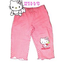 Baby Girls Hello Kitty Pink Leggings Bottoms Trouser 9-12 Months / 12-18 Months