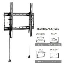 Tilting TV Wall Mount for (24 26 28 30 32 36 40 42)inch LED LCD Plasma HDTV