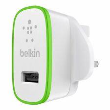 Belkin 2.1 Amp USB AC Wall Charger Universal for Smartphone Tablets iPhone 6 6S