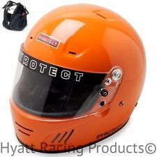 Pyrotect Pro Airflow Auto Racing Helmet SA2015 - All Sizes & Colors (Free Bag)