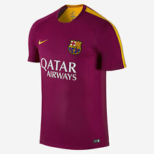 NIKE FC BARCELONA PRE MATCH TRAINING TOP Dynamic Berry/University Gold